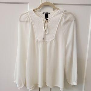 H&M White Oversize Shirt